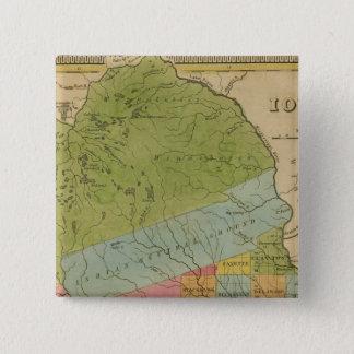 Iowa 4 15 cm square badge