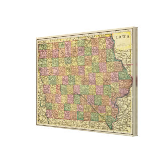Iowa 4 canvas print