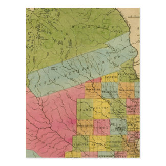 Iowa 4 postcard