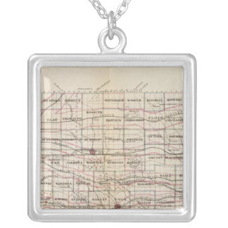 Iowa 5 silver plated necklace