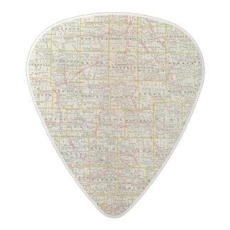Iowa 6 acetal guitar pick