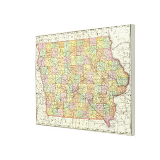 Iowa 6 canvas print