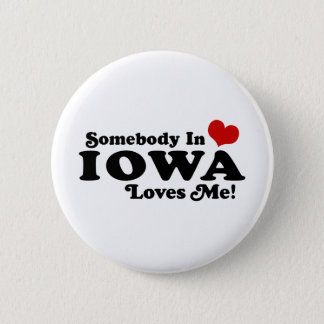 Iowa 6 Cm Round Badge