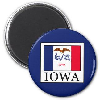 Iowa 6 Cm Round Magnet