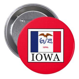 Iowa 7.5 Cm Round Badge