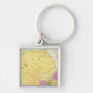 Iowa 7 key ring