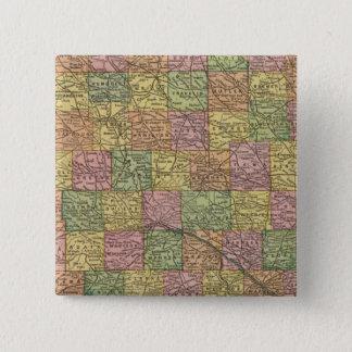 Iowa 8 15 cm square badge