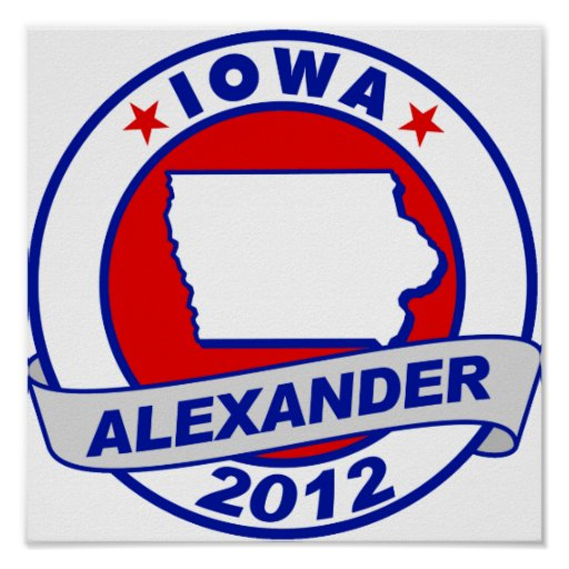Iowa Alexander Poster