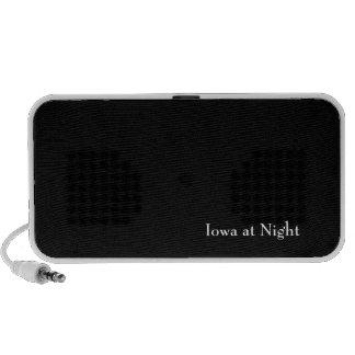 Iowa at Night Travelling Speakers