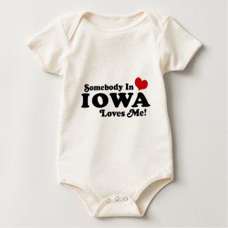 Iowa Baby Bodysuit