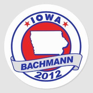 Iowa Bachmann Stickers