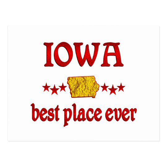 Iowa Best Postcard