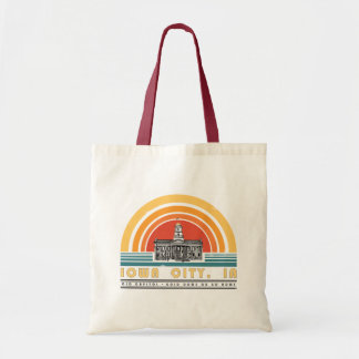 "Iowa City Old Cap ""Gold Dome or Go Home"" tote"