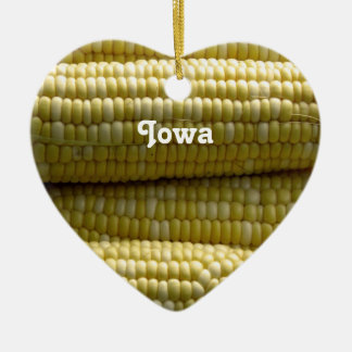 Iowa Corn on the Cob Christmas Ornament