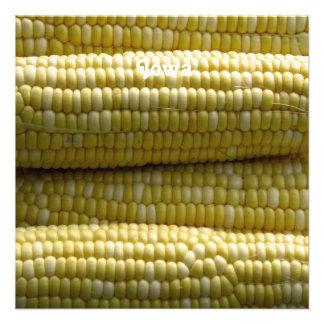 Iowa Corn on the Cob Personalized Announcement