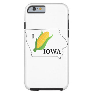 Iowa Corn Shirt- Corny spin off of the I heart NY Tough iPhone 6 Case