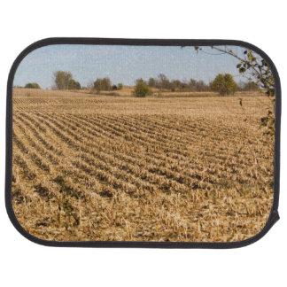 Iowa Cornfield Panorama Photo Car Mat