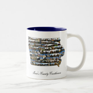 Iowa Courthouse Project Mug