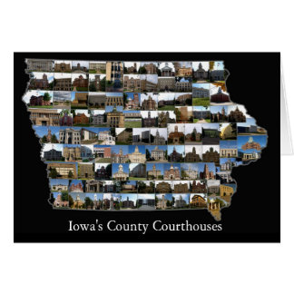 Iowa Courthouses Project Card