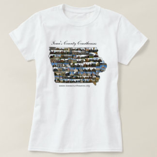 Iowa Courthouses Project T-Shirt