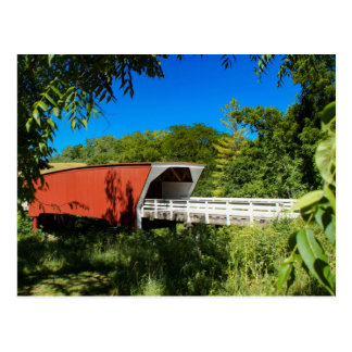 Iowa Covered Bridge Postcard