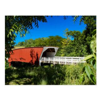 Iowa Covered Bridge Postcard