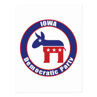 Iowa Democratic Party Postcard
