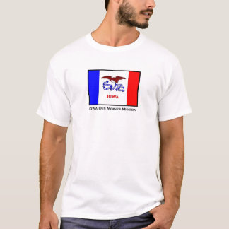 Iowa Des Moines LDS Mission T-Shirt