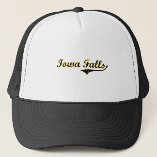 Iowa Falls Iowa Classic Design Trucker Hat