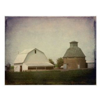 Iowa Farming Poster