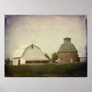 Iowa Farming Print