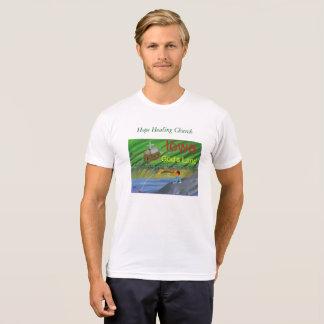 Iowa Fishing Farming Christian Scene T-Shirt