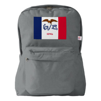 Iowa Flag Backpack