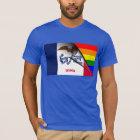 Iowa Flag Gay Pride Rainbow T-Shirt