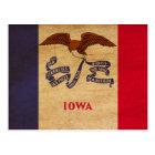 Iowa Flag Postcard
