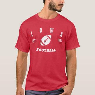 Iowa Football Retro Logo T-Shirt