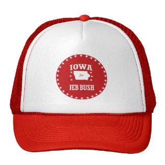 IOWA FOR JEB BUSH CAP