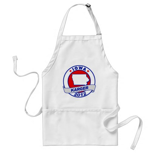 Iowa Fred Karger Aprons