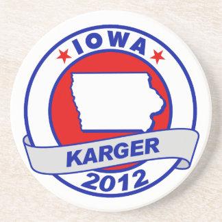 Iowa Fred Karger Coasters