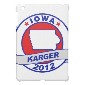 Iowa Fred Karger iPad Mini Cover