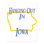 Iowa - Hanging Out Postcards