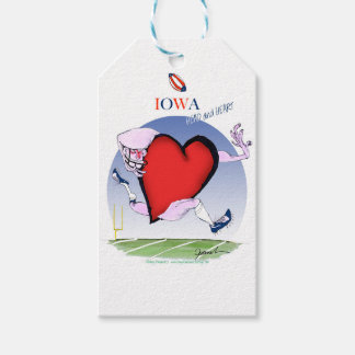 iowa head heart, tony fernandes gift tags