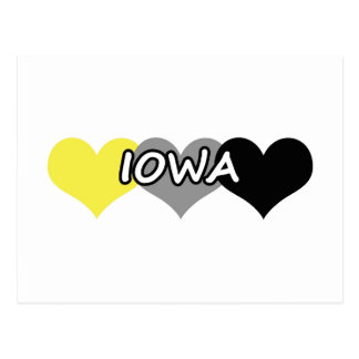 Iowa Heart Postcard