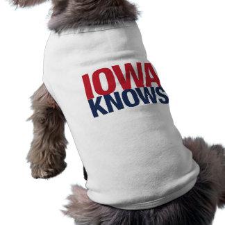 Iowa Knows Doggie Tshirt