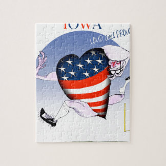 iowa loud and proud, tony fernandes jigsaw puzzle