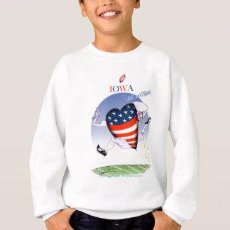 iowa loud and proud, tony fernandes sweatshirt