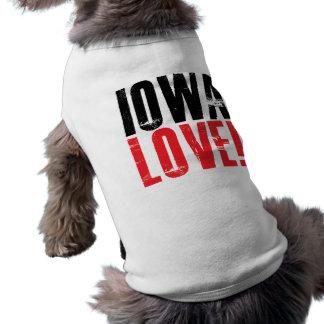 Iowa Love Dog Tee