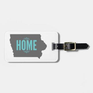 Iowa luggage tag