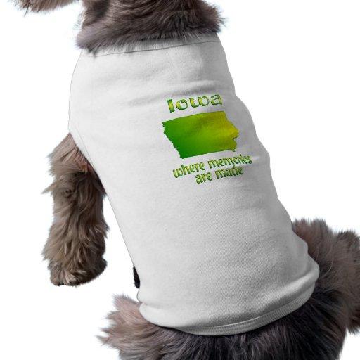Iowa Memories Dog Clothing