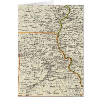 Iowa, Missouri, and Illinois Card